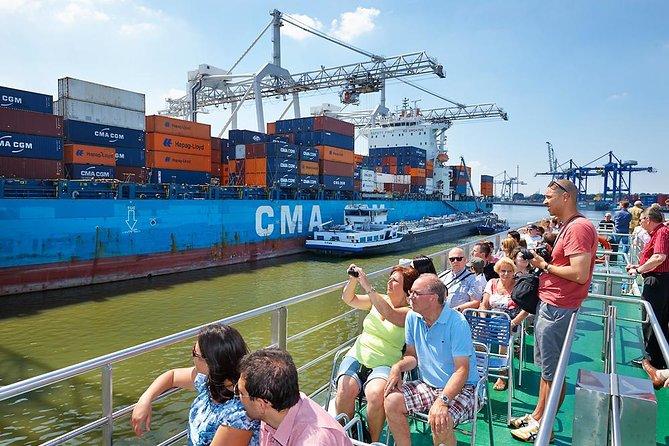Recorrido por el puerto de Rotterdam, Rotterdam, HOLANDA