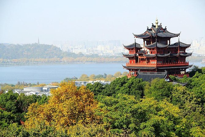Beat the crowds and visit the top Hangzhou attractions. This is an ideal tour for inviting clients, couples, families and for the people prefer high quality tour experience. Take the private rowing boat to enjoy the tranquil beauty of the West Lake; Move to Meijiawu Tea Village, see the tea plantation and learn how the tea to be picked and processed while you sip tea with the local tea famers.Stroll along the Bamboo forest; Marvel at the Former Residence of Huxueyan, the amazing architecture in the Qing Dynasty; Get to the top of the City God Pavilion to get the bird's eye view of West Lake and Hangzhou city. To make your tour comfortable and easy, we provide FREE WI-FI, COLD DRINKS, PHONE CHARGER AND UMBRELLA. (no extra charge)<br><br>Note: If you come to Hangzhou by train, recommend timing: Arrival: around 9:30am; Departure: around 18:00pm. Both Hanzhou East train station and Hangzhou railway station are work for this tour. FREE CHARGE of train station pick up & drop off service.