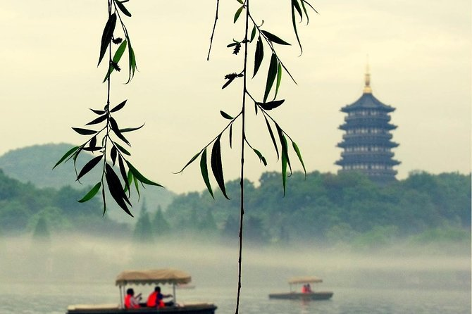 Discover the best of Hangzhou during a fascinating full day tour of the city's most highlights. Accompanied by your guide over 5+ years guiding experience and the driver over 10+ years experience. Take boat ride on West Lake; experience a Chinese tea ceremony at Meijiawu tea village and enjoy the serenity nature of Hangzhou in Bamboo Lined Path at Yunqi. You have the options to have lunch at the local restaurant recommended by your guide or have an authentic home-cooked meal at a local famer's home. To make your trip comfortable and easy, we provide Free WI-FI, PHONE CHARGER, COLD DRINKS AND UMBRELLA (no extra charge)<br><br>Note: If you come from Shanghai by train, recommend timing: Arrival: Around 9:30am; Departure: Around 18:00pm. Both Hangzhou East train station and Hangzhou railway station are work for this tour. Free charge of train station pick up & drop off service.