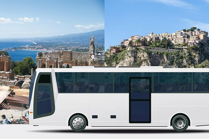 Messina - Taormina - Castelmola Low Cost Return Shared Transfer, ,
