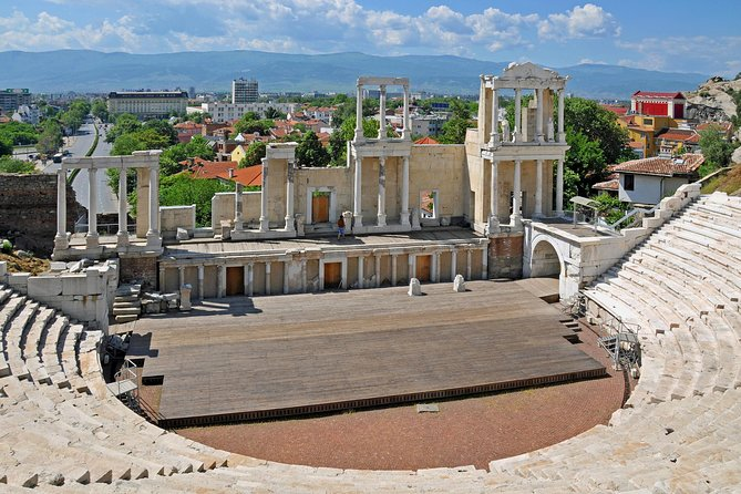 Enjoy a guided combo tour to two of the most fascinating towns in Bulgaria. These are Plovdiv - the European Capital of Culture 2019 and Koprivshtitsa - a picturesque town with an epic history and a striking architecture. Explore all major attractions in the old town of Plovdiv with a professional guide and admire the marvellous heritage left by Thracians, Romans, Byzantines, Jews, Greeks, Armenians and Bulgarians. The route between Plovdiv and Koprivshtitsa crosses rose valleys, charming villages and the gentle hills of Sredna Gora Mountain. Koprivshtitsa is unforgettable with its spectacular Bulgarian Renaissance mansions and filled with battles chronicles. Despite the long and intensive itinerary, there is free time planned for shopping, self-guided wandering and eating. <br>