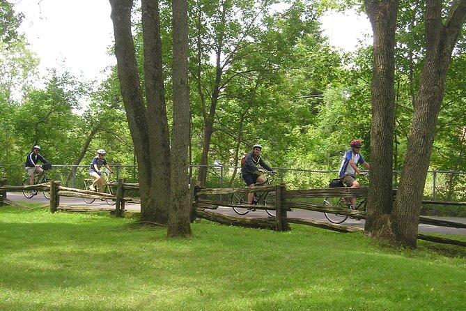 Montmorency Falls Bike Tour in Quebec, Quebec, CANADA
