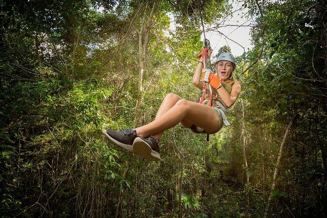 MÁS FOTOS, Tirolesas en la Riviera Maya + Cenote + ATV en Selvatica