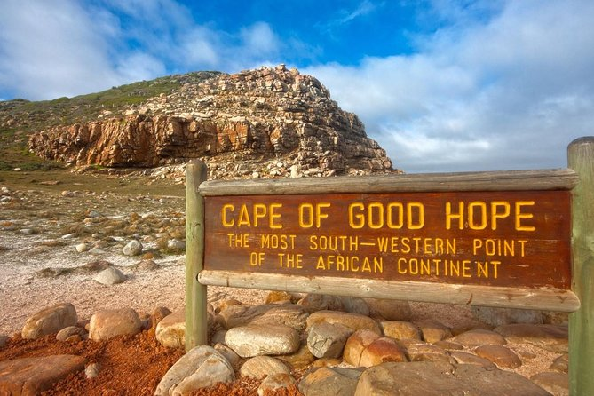 Admire the spectacular natural scenery of the Cape Peninsula<br><br>Take the funicular up the lighthouse at Cape Point<br><br>Visit the African Penguin Colony at Boulders Beach<br><br>Stroll Kirstenbosch Botanical Gardens, or<br><br>Wine-taste in the historic Constantia Winelands