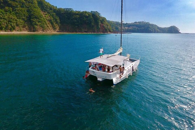 Join us on a very unique and exclusive Sunset Tour to Playa Fantasia. Our sunset tour departs at 1:30 pm from Playa Herradura cruising 40 minutes up the Gulf of Nicoya to a secluded beach. <br><br>Playa Fantasia is a beach, accessible only by water, a beach with sprawling jungle, reef formations, white sand and turquoise waters. Untouched and full of marine and wildlife such as Monkeys, Scarlet Macaws, Turtles, and of course, all our rescued animals. <br><br>Included, you will have a beautiful fresh lunch cooked by our private chef at Playa Fantasia as well as a bar of fresh Pina Coladas, margaritas, mojitos, beer, soda and water. Fresh fruits served throughout the entire tour.<br><br>At Playa Fantasia, you have access to boogie boards, paddleboards, surfboards, hammocks and beach loungers. <br><br>This tour is an excellent alternative to Tortuga Island to avoid the crowds and is a great short and sweet experience perfect for families with children, couples, and singles.<br><br>Cruise home to the sunset.