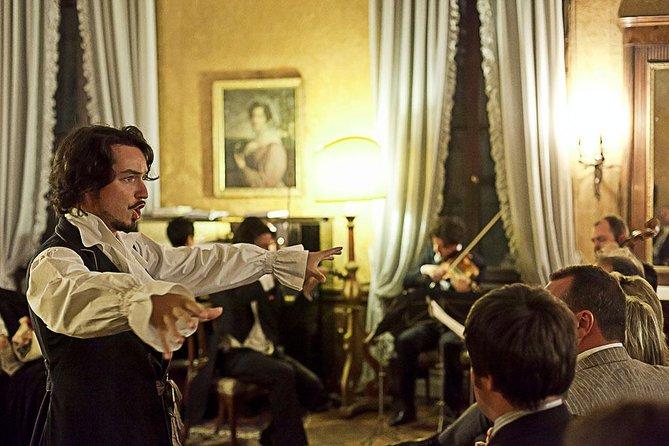 Apresentação da Ópera Ambulante Musica a Palazzo em Veneza, Veneza, Itália