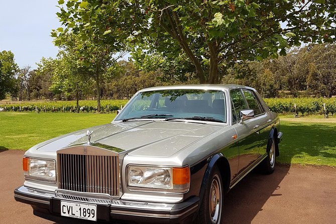 A bespoke tour of the Margaret River region wineries and breweries.<br>Ride in the airconditioned comfort of a luxury Rolls Royce Silver Spirit. <br>After pick-up from your accommodation you will visit five wineries (some tasting fees may apply), two breweries and chocolate, cheese or olive oil providores. A visit to a scenic location for a photo opportunity is included. Lunch at one of the breweries is provided and tasting at local providores.<br>Client can have input into the itinerary.