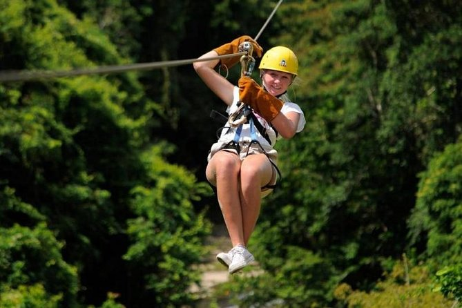 Feel the wind rush past you as you soar from platform to platform zipping on 12 different double cables, assuring maximum safety. Enjoy the only zipline in Dominican Republic with side by side cables! Set in the lush tropical forests of Punta Cana, this will be a truly unforgettable experience!