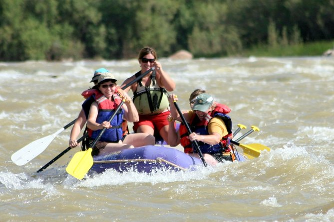 This half-day rafting trip is fun for the entire family! Enjoy the beautiful scenery as you raft past Moab's Fisher Towers. The trip includes transportation to and from the water, personal flotation devices, dry bags and, of course, your whitewater raft. This half-day excursion is a great way to fit Utah river rafting into your vacation.