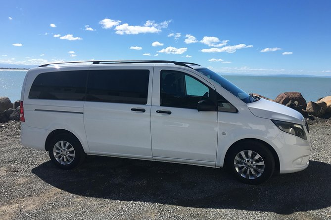 Book your private round-triptransfer from Christchurch Domestic/ International Airport to your hotel or residence in Central Christchurch & back.<br><br>Highlights:<br> • 24/7 365 days Customer Service and Support. <br> • Transport by 2017 orlate model Mercedes Benz Vans. <br> • Professional Drivers. <br> • Baby & Child seats available upon request. <br> • Complimentary bottled water. <br> • Round-the-clock service – so even if you have late night or early morning arrival/ departure, your reservation is secure.