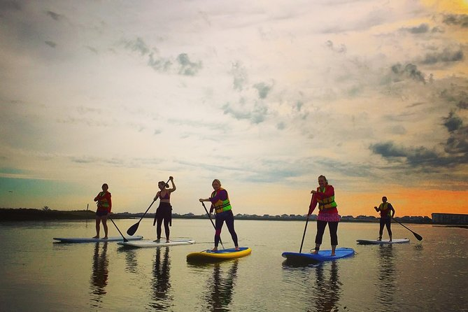 Enjoy a guided paddleboard tour around the beautiful waters of Murrells Inlet or the Waccamaw River. With both sunrise and sunset tours available, our paddle board tours tours are sure to please every guest. Embark on this two hours tour and you will be introduced to some of South Carolina's most diverse coastal wildlife in an engaging and informative escapade.
