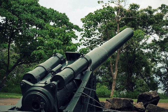 Take a historical tour around the Philippines' World War II Island Fortress with lots of historical sites and a breathtaking views of nature. Corregidor Island, which is only 30 min away from Manila, serves as a memorial to Filipino, American and Japanese soldiers.<br><br>Highlights<br> • Explore the most significant strategic point of the Philippines during the Second World War.<br> • Have a look at the large artillery batteries used by American and Filipino Armies<br> • Visit the country's last military bastion of World War II<br> • Buffet lunch is included<br> • Have a glass of refreshing calamansi drink in AirTaxi.ph VIP lounge<br> • Enjoy complimentary snacks during your trip<br> • Have a quick photo shoot before your flight