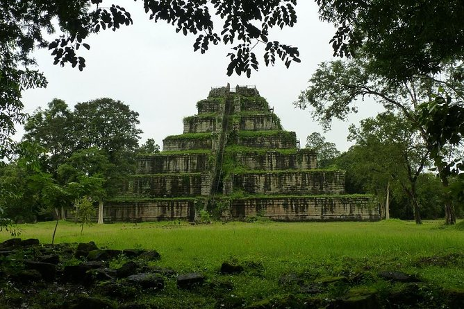 A private day trip to explore more ways of people life at rural area along the way to ancient city of Koh Ker including unique 7 tiered Pyramid of Prasat Thom and on the way back of to explore overgrown untouched of Beng Mealea so-called Indiana Jones Temple.