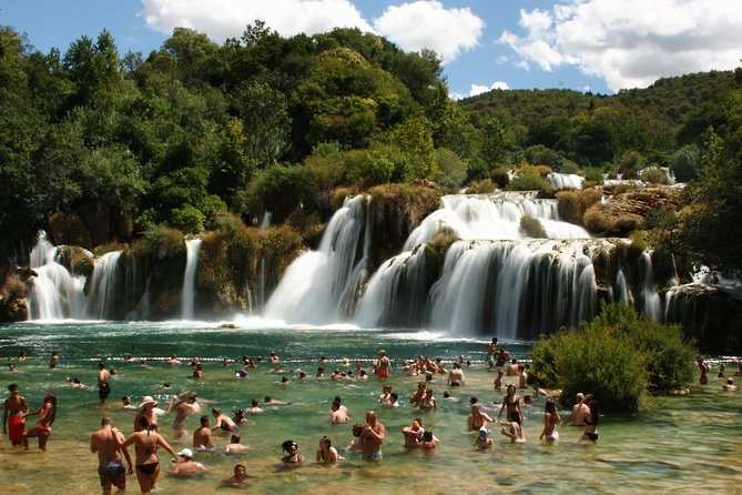 Make the best out of your vacation and spend a day exploring the natural wonders of National park Krka, one of the most beautiful national parks in Croatia. Our journey starts at one of our arranged meeting points in Okrug Gornji or Trogir. For private tours, the pick up can also take place directly at your accommodation. Bring swimsuit, suglasses, towel, comfortable walking shoes or sandals, change of clothes. <br><br>7:50/08:10 AM  Departure from Okrug Gornji/Trogir <br><br>09:00 AM   Arrival at Skradin <br><br>10:00 AM   Boat ride from Skradinski buk to Krka <br><br>10:30 AM   Arrival at NP Krka <br><br>14:00 PM   Departure from NP Krka  <br><br>15:00 PM   Arrival at Trogir/Okrug Gornji
