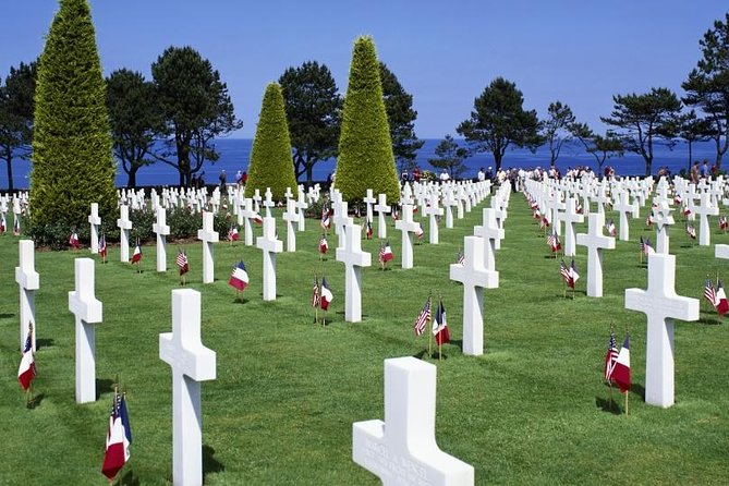Full day sightseeing tour of the American sectors of the D-Day Normandy invasion. An experienced English speaking guide will show you the battlefield sites and explain in detail the events that occurred.