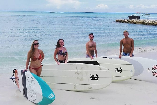 Come out and paddle with us for on Dickenson Bay in Antigua! Located on beautiful Dickenson Bay, a stand up paddle Antigua offers direct access to the tranquil Caribbean Sea, a perfect area to try SUP for the whole family. Rent a board for 1 hour or more (price per hour). We provide everything you need to get out on the water, including top of the line, USA Coast Guard approved equipment. Our equipment is great for all sizes. We have universal life jackets and Boards that float up to 400 pounds.