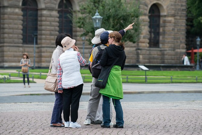 Excursão a pé em Dresden pela cidade antiga histórica, Dresden, Alemanha