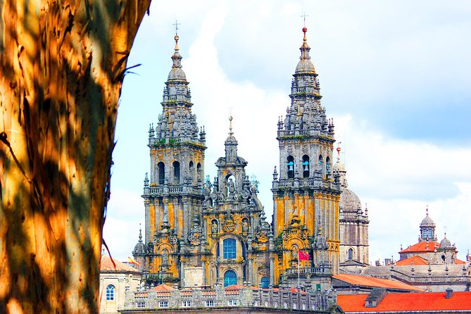 • Ticket to participate in a 2 hour walking tour through the main streets of Santiago de Compostela Old Town <br> • Includes the main squares around the cathedral <br> • Local places you won't find in tourist guides: Mercado de Abastos, narrow streets, hidden squares <br> • The best views of the Cathedral from the Alameda Park. <br><br>