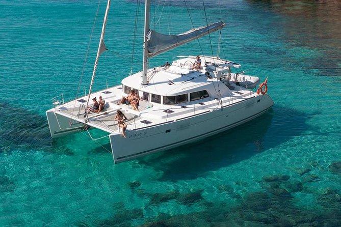 Exclusive Champagne Catamaran Sail & Snorkel, Cozumel, Mexico
