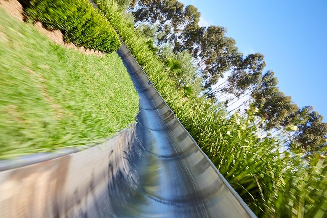 Cool Runnings is the only toboggan track in Africa,1.25 km long, and with sunny skies and warm weather, these bobsled definitely aren't running on the traditional snow and ice. Instead, Cool Runnings bobsled run on wheels on a stainless steel track, each seating up to two people. Your ride starts with pulling you up to the top of the hill. From there, your sled is released and you'll go flying down the track with 15 corners, S-bends and a tunnel. You can control your own speed, but adrenaline junkies can easily reach up to a whopping 40km/h. If you slow down before your are reaching the braking belt, you have nothing to worry about. <br><br>Cool Runnings Toboggan Family Park is just outside Cape Town, situated on the slopes of Tygervalley. The Park also boasts a large, covered terrace, yummy food and drink facilities and a bar, making it the perfect outdoor spot for corporate functions, team buildings, family outings and kid's parties.