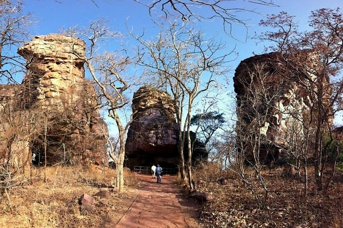 Enjoy visiting the neolithic age site of massive rock shelters at this UNESCO World Heritage site. Visit the Bhimbetka ancient rock shelters and the Bhojpur temple. A personal chauffeur and private guide will provide you with all attention and information you could want on this 8-hour tour.
