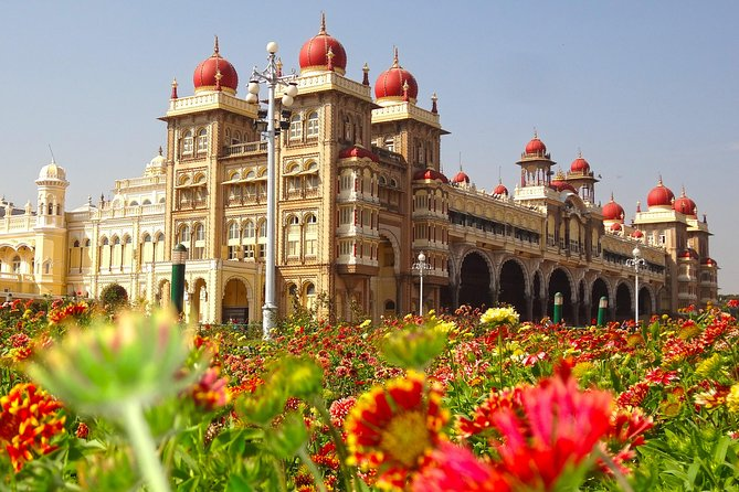 Visit Historic Srirangapatna and majestic Mysore in a day. Enjoy a breathtaking view of beautiful city from Chamundi hills. Walk through the colourful Bazaar of Devaraja market to appreciate the world famous Mysore Sandalwood oil and Mysore Silk. Enjoy the services of private local guide and a personal chauffeur in an air conditioned car.