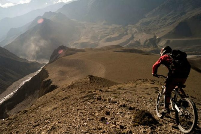 Full-day mountain bike adventure in the Andes, Mendoza, ARGENTINA