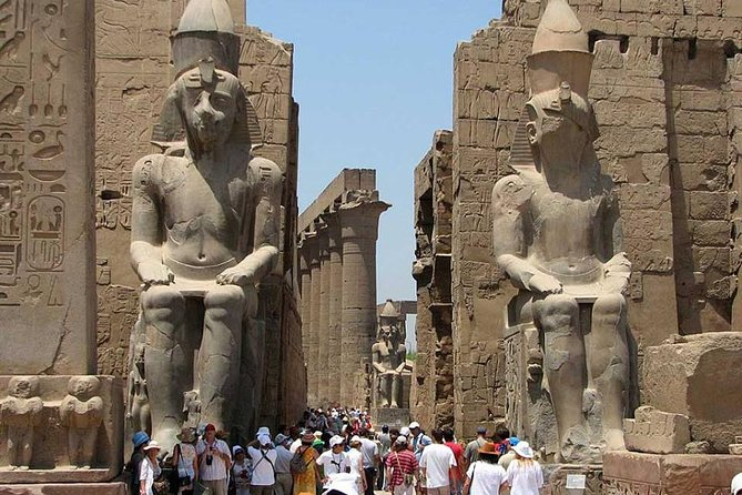 Explore the wonders of Luxor on a full-day tour from Hurghada. See some of Egypt's most spectacular sites along the Nile River at the city formerly known as Thebes. Tour the Valley of the Kings -  visit the ruins of temples - Nile River boat trip - queen Hatshepsut  and an alabaster factory.