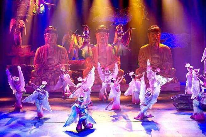 • Enjoy an incredible six-part stage play showing the local folk culture of the Fujian province in south China<br> • Get mesmerized by the passionate performances of classic Minnan songs and dances<br> • See elaborate sets that change frequently to better showcase spirited performers in traditional costumes<br> • Marvel at the 3D lasers illuminating the stage in bright, ever-moving colors