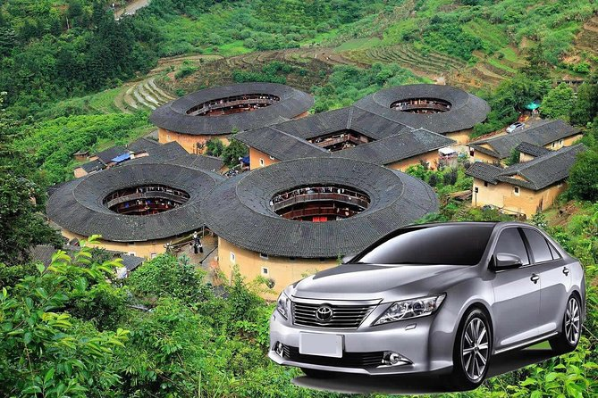• Easily travel to the Tianluokeng Tulou Cluster by riding private transfers! <br> • Visit a UNESCO World Heritage Site surrounded by exquisite natural scenery <br> • Take your pick from four upscale vehicles—secure a private and luxurious journey for your traveling party! <br> • Have the pleasure of exploring the Tinaluokeng tulou with an experienced driver