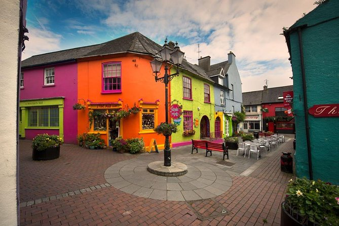 "Discover the Wild Atlantic Way and historic Kinsale and west Cork on this 7 hour private luxury tour. Explore the magnificent and scenic Charles ""Star Shaped"" Fort, uncover the ancient ruins of Timoleague Abbey and wander the colourful, narrow streets and laneways of the medieval town of Kinsale. All this while meandering along the Wild Atlantic Way and rolling countryside of west Cork."