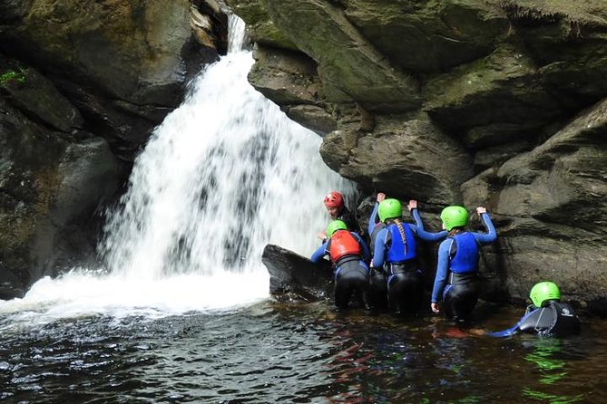 MÁS FOTOS, Canyoning Half-Day Trip at Keltneyburn from Aberfeldy