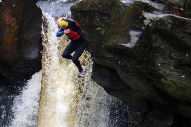 White Water Rafting on the River Tay and Canyoning from Aberfeldy, Aberfeldy, ESCOCIA
