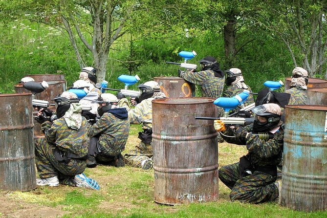 MAIS FOTOS, Paintball at Aberfeldy