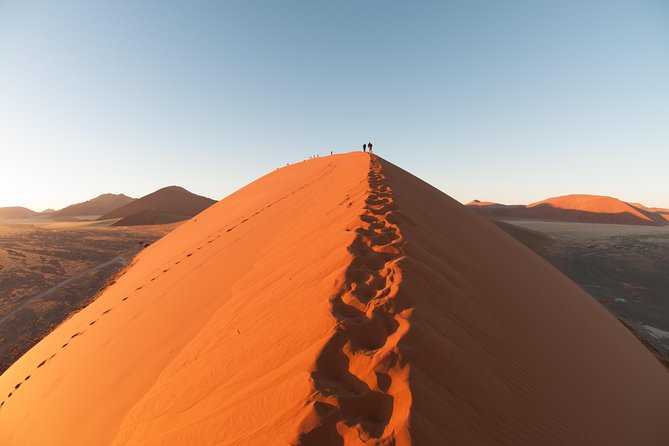The 3 day Sossusvlei Tour will give you a quick landscape snapshot of the world's highest dunes in the world's oldest desert at Sesriem & Sossusvlei.