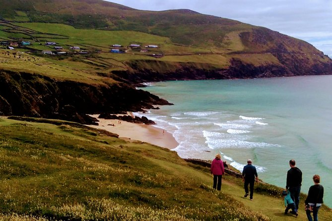 Dingle peninsula tour starts from any Hotel or B&B at Dingle peninsula. We will visit all historical places and all points of spectacular views. Any stops for coffee, tea, lunch or just taking pictures are very welcomed. We will visit all local craftsmen - handsome people from Dingle.