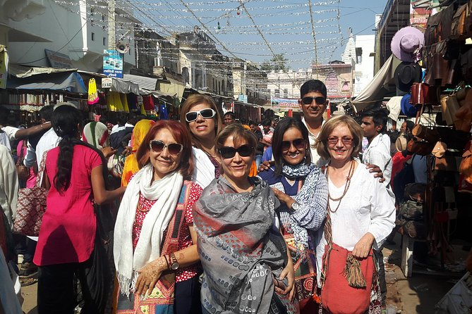 Uncover the known treasures of culture , spirituality on a 3-hour insider walking tour with a Government approved guide. Explore the real life of locals , hidden traditions and practices, beautiful temples and visitingspecialty street food shop to tasty special lassi . You'll see top attractions like the Pushkar Lake,Brahma temple, Gurudwara,Varah temple, atmateshwar temple, Southindian Temple and its musium. As you walk, you'll learn the mysteries and history of this holy city and its ancient buidlings. 4 to 6-hour walking tour of Pushkar hidden treasures with an expert guide to explore the local market of garments which is produced here and silver and brass jewellery manufacturer units. This is a walking tour with a difference, introduce you to Pushkar hidden gems! Learn about culture, Hinduism , Spirituality,local food and life while discovering the city's backstreets sites.