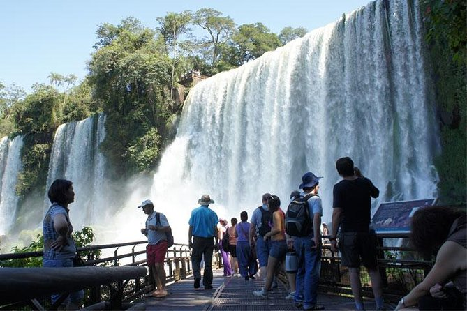 More than 75% from Iguassu Falls are located at Argentinian territory. It is essential to visit the Iguassu Falls in this country. Traditionally there are three circuits: Devil´s Throat, Upper and Lower. Coupled circuits are approximately 6 kilometers walk through the forest, several lookouts with privileged views and great pictures are taken.