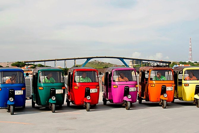 Enjoy the service of your own private TukTuk vehicle, including an independent experienced chauffeur, available to take you on an exciting 2 hour sightseeing trip. The chauffeur will also be your own personal guide, allowing you to explore all what this beautiful island has to offer. This trip does not include travel to the western part of the island. Take a plunge in one of our crystalline beaches, go on a shopping spree or visit the various museums, while your TukTuk and chauffeur await you.