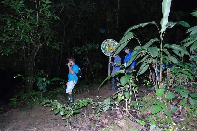 we are locate in Drake Bay /CostaRica. <br><br>our tour will take place on the family farm called # rio agujitas farm., 1.5 km from the beach in our primary and secondary forest. <br><br>OUR tour will last 3 hour . <br><br>living from our reception at 6.30 pm and caming back at 9.45pm