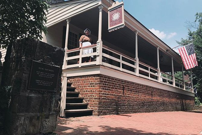 While not serving food or drink since 1827, the Rising Sun Tavern Museum provides a lively interpretation of late 18th-century Tavern life.