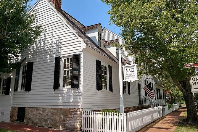 In 1772, George Washington purchased this home in Fredericksburg, Virginia for his mother, Mary Ball Washington, where she spent her last seventeen years.