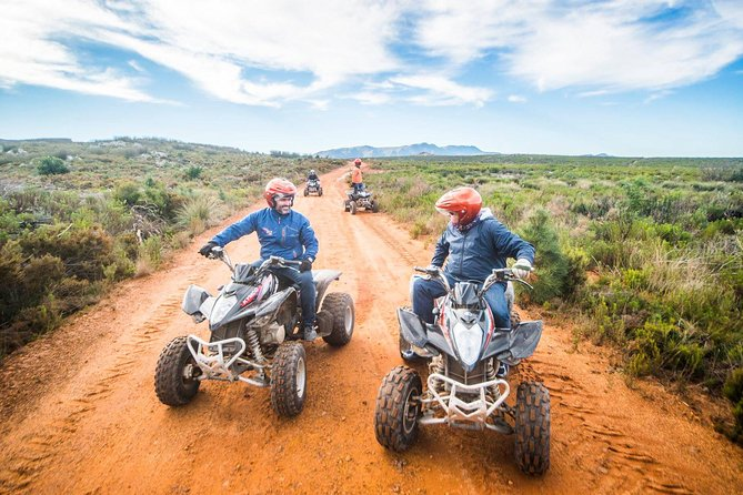 Enjoy the country side on one of the most versatile trails from forests to open roads while on an Quad Bike (ATV)