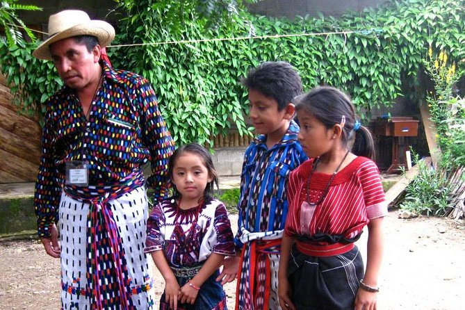 Discover the Mayan villages of Santa Catarina and San Antonio on a flexible day tour package from Panajachel. <br><br>Learn about the local culture, visit weaving cooperatives and see the vibrant blues, purples, and reds woven into traditional designs. Meet local families. Take part in unique rituals, including a Mayan Protection Fire Ceremony. Go to local craft cooperatives and galleries, local ceramic studio, historic churches, and more. Private tour.