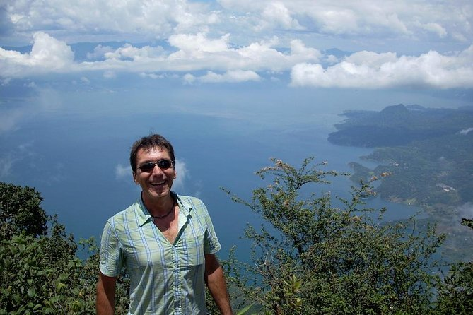 This San Pedro Volcano hike is the perfect adventure tour. See old growth cloud forest and exotic birds as you climb to the top of the volcano on this 9-hour tour. From the top, you get unparallelled views of Lake Atitlan, and on some days you can see to the Pacific Ocean. This is a great package if you like nature, like to hike and want adventure. Small-group or private.