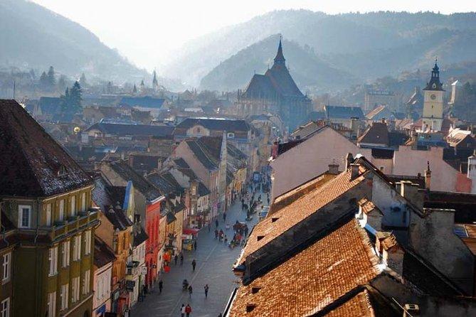 Day Trip Through Brasov in Transylvania and Bran, Peles, and Rasnov Castles, Brasov, RUMANIA