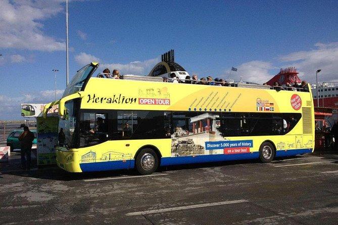 Heraklion Hop-On Hop-Off Double-Decker Bus City Tour, Heraclion, GRECIA