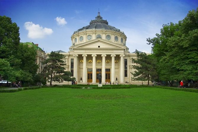 The tour will start in the morning with pick-up from your centrally located hotel and will take you to the most interesting sights of Bucharest. Option to upgrade on the day to include entrance to the Parliament Palace and The Village Museum.