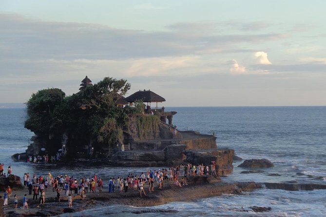 Tanah Lot - one of the popular interesting temple and located in the west of Bali (Tabanan Regency).The most visitors come to Tanah Lot every time for sunset so this place deemed icon of Bali. The land (Temple) in the middle of the sea visible like floating, when the tide is high.But If the tide is low all of tourist can walk and visit this place close by. After observe and enjoy the sunset time at Tanah Lot ( Package A), the tour will continue going to spa treatment and Balinese massage ( Package B).The program spa will take approximately 2 hours like flower bath, body scrub, aromatic foot wash,Balinese massage with all of experience therapists.