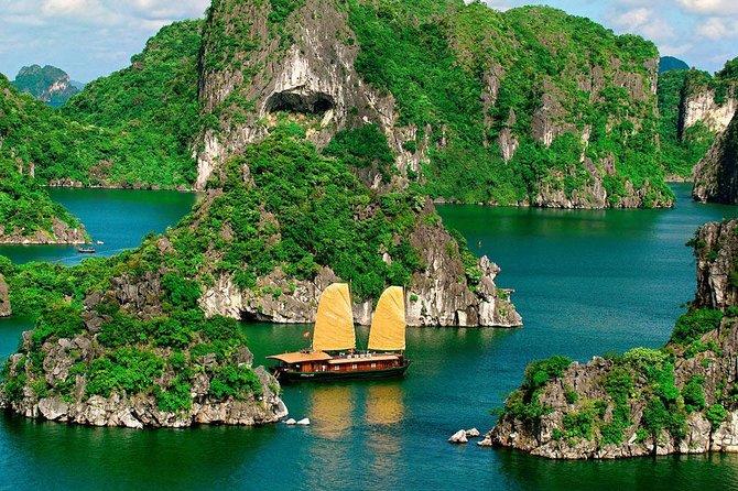 Excursión de un día a la bahía de Ha Long, Halong Bay, VIETNAM